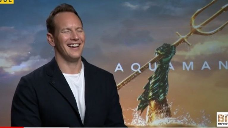 EXCLUSIVE: Patrick Wilson on playing a relatable bad guy and training for trident fights