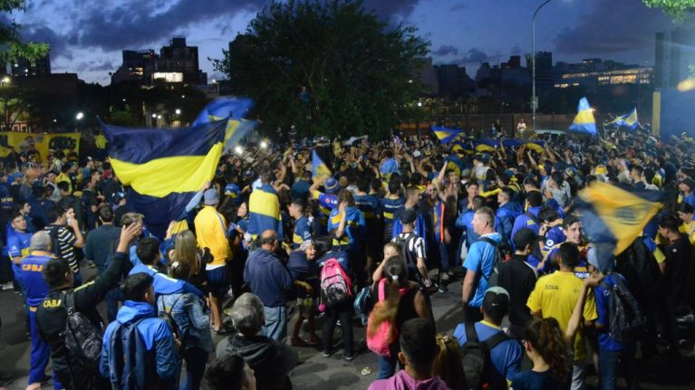 Boca Juniors fans sacrifice jobs, marriage & cars to attend