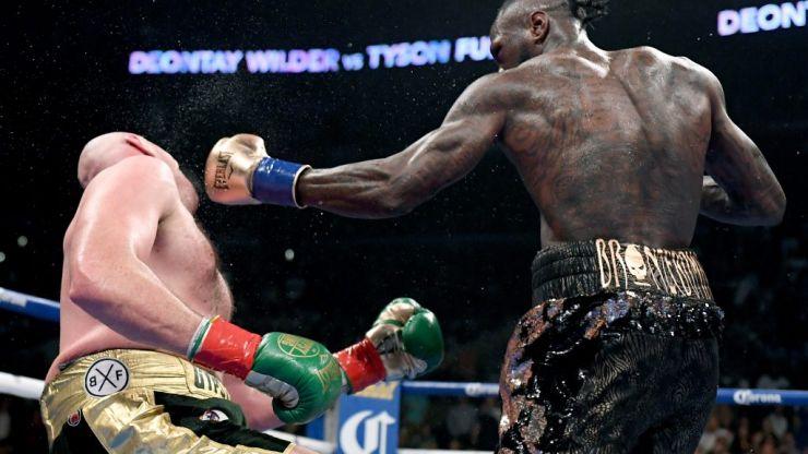 WATCH: Tyson Fury goes full Undertaker following THAT hook from Deontay Wilder