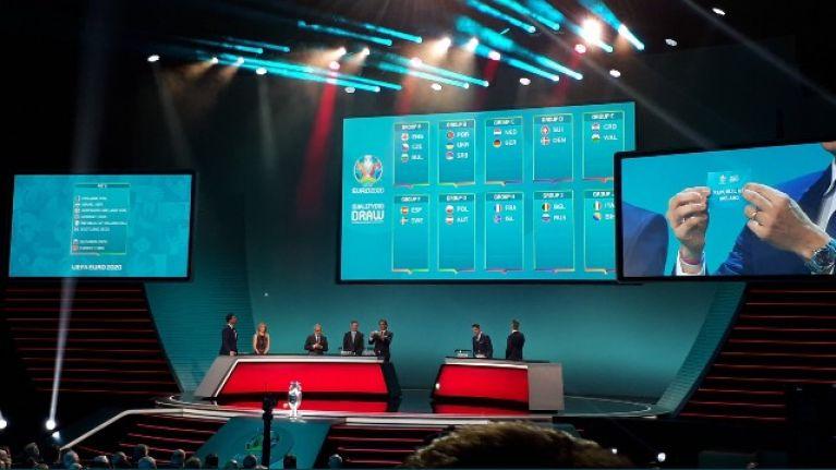 Ireland's Euro 2020 group has been announced