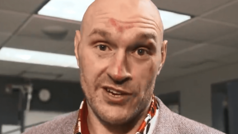 WATCH: Tyson Fury's post-fight interview is a powerful message for anyone suffering with mental health issues