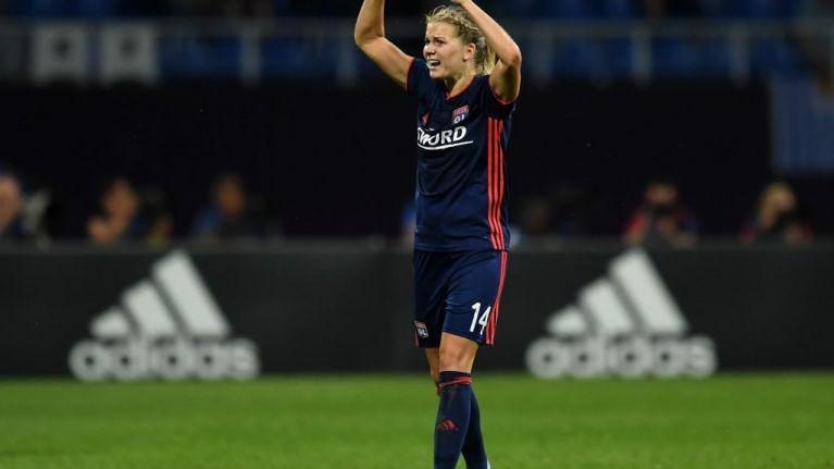 """WATCH: Lyon and Norway striker Ada Hegerberg, first female Ballon D'Or winner, asked to """"twerk"""" on stage"""