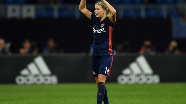 "WATCH: Lyon and Norway striker Ada Hegerberg, first female Ballon D'Or winner, asked to ""twerk"" on stage"