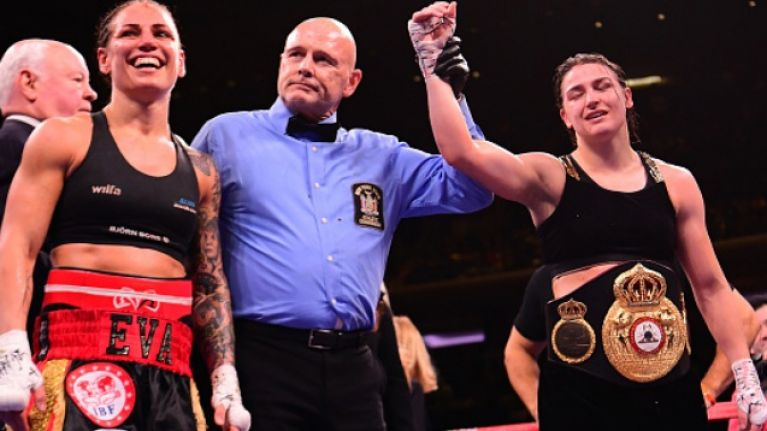 Katie Taylor produces 'best display of her career' as she defends her World Lightweight titles