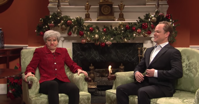 Matt Damon Stars As David Cameron In Saturday Night Live
