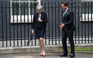 """English newspaper claims that Theresa May """"loathes"""" Leo Varadkar"""