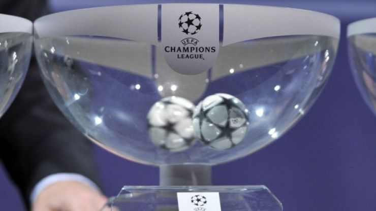 Here's the draw in full for the last 16 of the Champions League