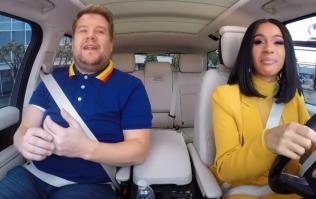 WATCH: Cardi B on James Corden's Carpool Karaoke is extremely entertaining