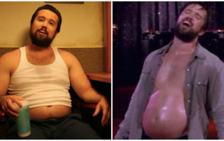 The amount of food that Mac from Always Sunny ate to put on 60lbs is absolutely revolting