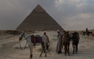 Egyptian government investigating whether couple filmed themselves naked on sacred pyramid