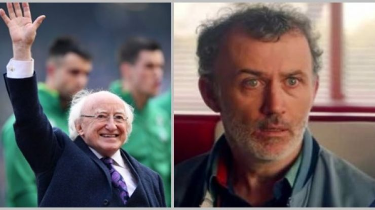 President Michael D. Higgins & Tommy Tiernan just phone each other for the craic & now we're insanely jealous
