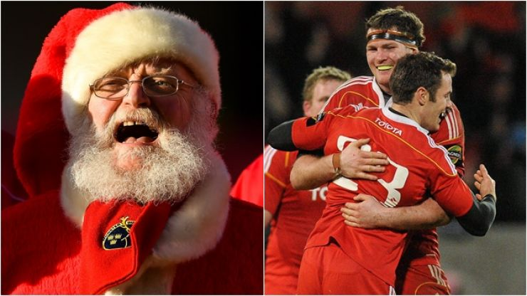 Munster's infamous wedding-themed Christmas party has surely never been topped