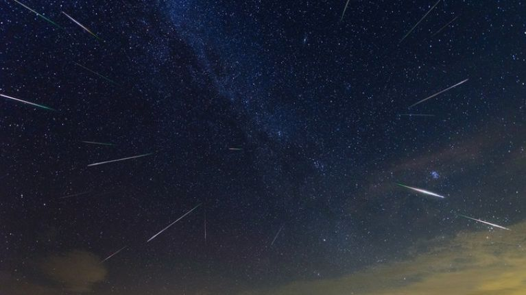 Hundreds of shooting stars could be visible in Irish sky tonight