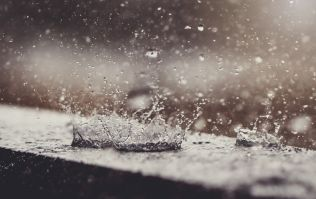 A status yellow rainfall warning has been issued for four counties in Ireland