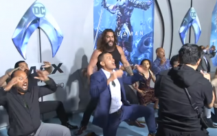 WATCH: Jason Momoa doing a haka on the red carpet is absolutely excellent