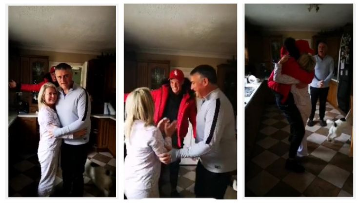 WATCH: Mum in Westmeath gets very emotional when her son in Australia makes surprise Christmas visit