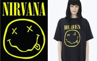 Nirvana are suing Marc Jacobs for allegedly lifting their smiley face design