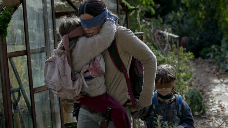 Sandra Bullock's version of A Quiet Place arrives on Netflix this weekend