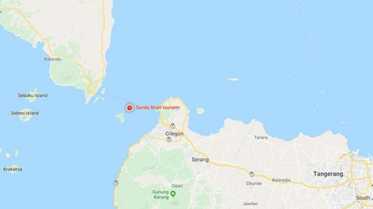 At least 222 confirmed dead after volcanic eruption leads to tsunami in Indonesia