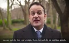 WATCH: There has been a strong reaction to Leo Varadkar's Christmas message