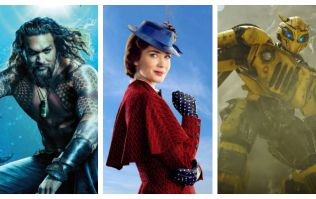 Aquaman VS Mary Poppins Returns VS Bumblee - which movie topped the box office this week?