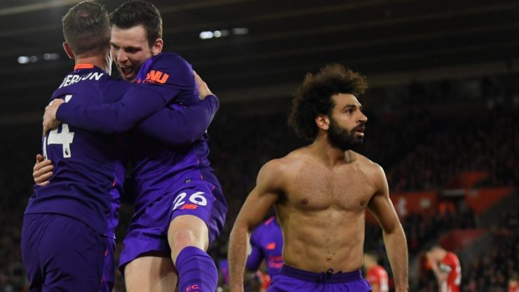 Liverpool aren't going to go away as Mo Salah makes sure this epic title race goes on and on