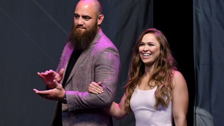 Travis Browne punches 'fan' who attacked WWE legend Bret Hart