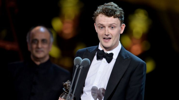 Young Offenders actor Chris Walley wins prestigious Olivier award