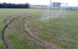"Galway club ""devastated"" after GAA pitch vandalised by joyriders"