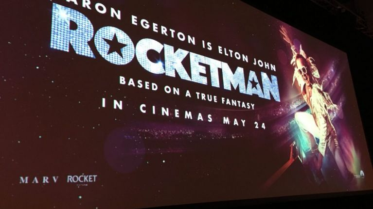 We went to the iconic Abbey Road studios for a special preview of Elton John biopic Rocketman