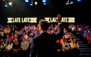 Here's the line-up for this week's Late Late Show