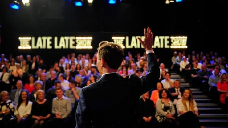 Here's the lineup for this week's Late Late Show