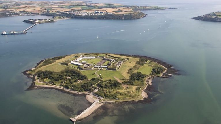 "A day trip to the isolated Spike Island prison, once known as ""Ireland's Hell"""