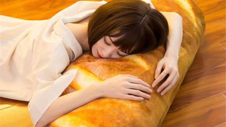 You can now buy a €16 bread pillow because humanity has peaked