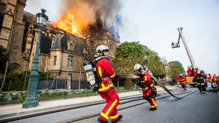 Reaction of the rich to the Notre Dame fire teaches us a lot