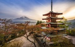 Here's how to be in with a chance of winning a trip to Japan for two