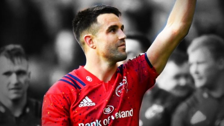 'Axel is with us every day. He played such a big part of my career' - Conor Murray