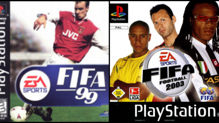 There's a brilliant Spotify playlist of 483 songs that featured on the FIFA games from 1998-2019