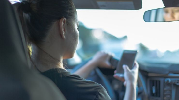 In 2019, nearly 5,000 motorists have been caught by the Gardaí holding a phone while driving