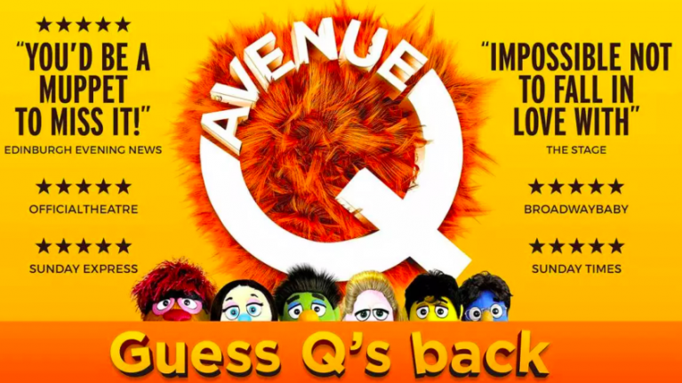 Avenue Q, the absolutely filthy show featuring puppets, is coming to Dublin