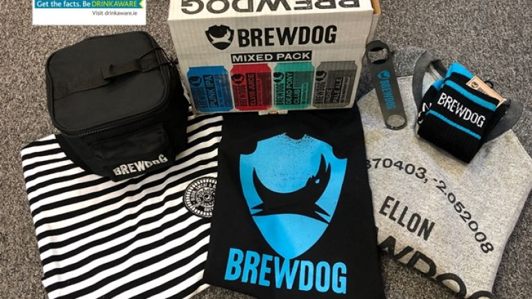 COMPETITION: Win this fantastic hamper of Brewdog beers