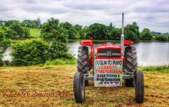 Charity tractor run from Dublin to Mayo seeks to raise thousands for three worthy causes
