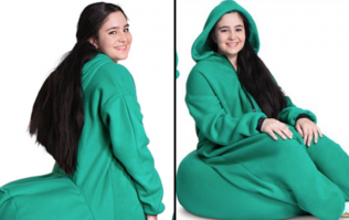 Bean bag onesies are now a thing you can buy because who ever wants to stand up