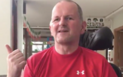 'Thank you' - Sean Cox thanks public for their support as he continues his recovery
