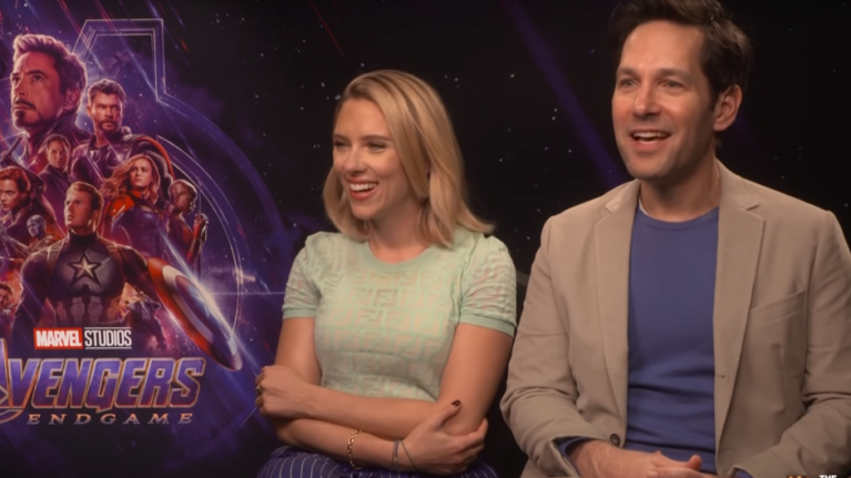 EXCLUSIVE: Scarlett Johansson and Paul Rudd reveal they don't fully know how Avengers: Endgame is going to play out