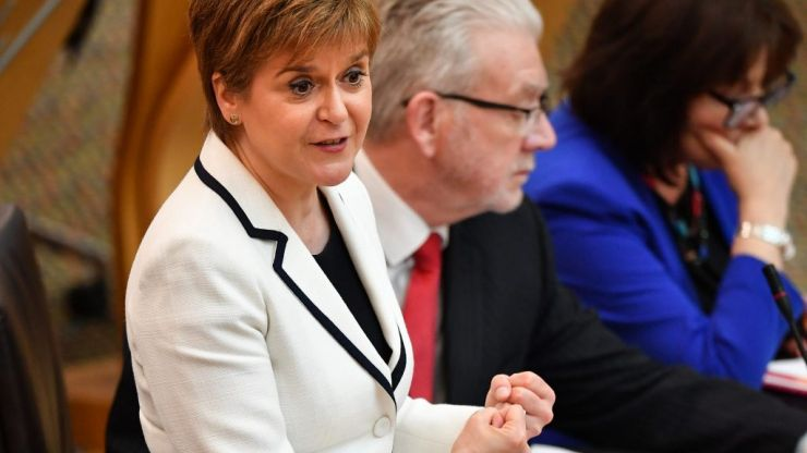 Nicola Sturgeon calls for Scottish independence referendum by 2021