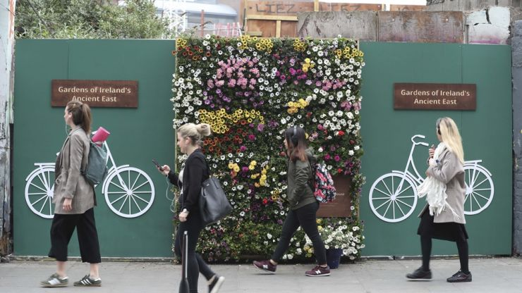 Pop-up gardens to appear all over Dublin this week