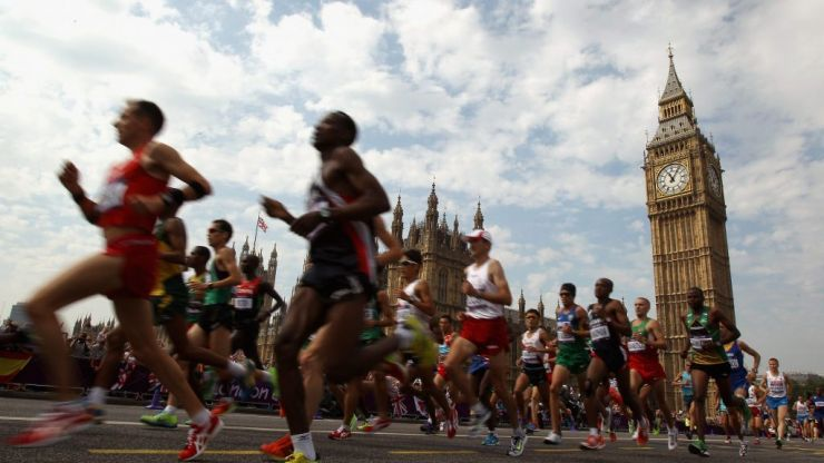 Small problem for Big Ben at London marathon finish line