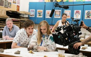 """EXCLUSIVE: Bo Burnham chats about """"writing a letter on a salmon"""" to Enya asking to use her song for his movie"""