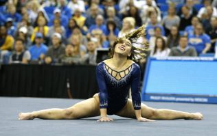 WATCH: Superstar gymnast Katelyn Ohashi performs her final college championship routine